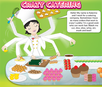 Crazy Catering Woman