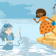 Lady mermaid