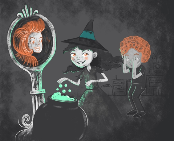 SCBWI 24 close your eyes witch full