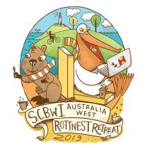 SCBWI Rottnest Retreat LOGO 2019