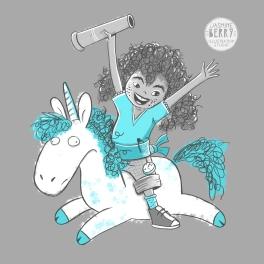 girl unicorn