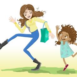 SCBWI APRIL 17 Aunty rose swing skip lady kid