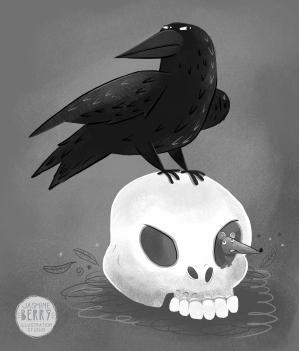 Draw_A_Day_14_Raven